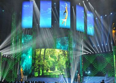 Full Color Indoor Rental LED Display with Deep Black Level, High Contrast Ratio