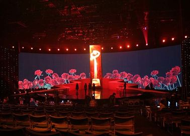 IP40/IP21 Protection Indoor Rental LED Display For Stage Show Easy Installation