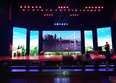 High Definition Indoor Rental LED Display Lightweight For Shopping Mall Resorts