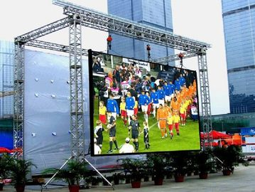 P4.81 Outdoor Rental LED Display High Brightness Waterproof SMD2525 For Stage