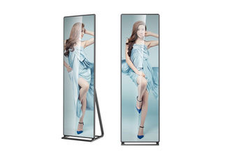 Slim Indoor LED Poster Advertising Signs 160 Degree Viewing Angle Kinglight LED Lamp