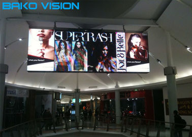 Front service P3 Indoor Fixed Led Display with Kinglight Leds for Shopping mall