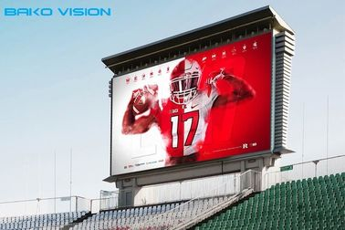 Outdoor LED Billboard Digital LED Display Static Large Screen Nationstar P10 SMD OHH Advertising Scoreboard